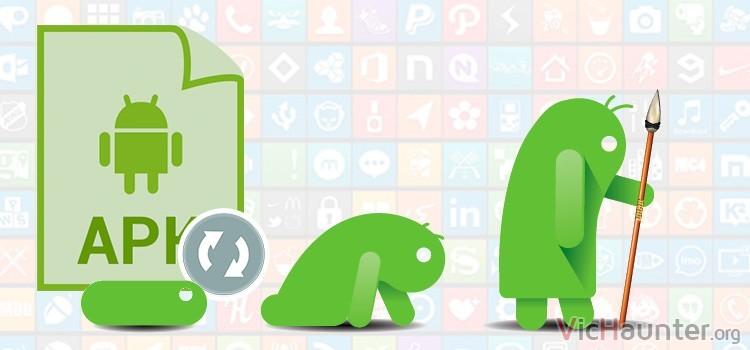 Cómo actualizar automáticamente aplicaciones no oficiales en android