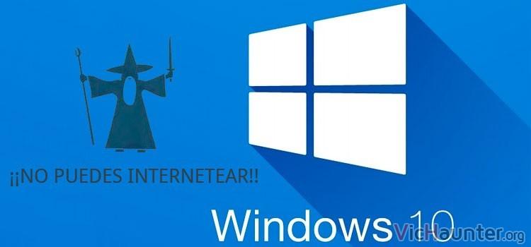 Cómo reiniciar la configuración de la tarjeta de red en Windows 10