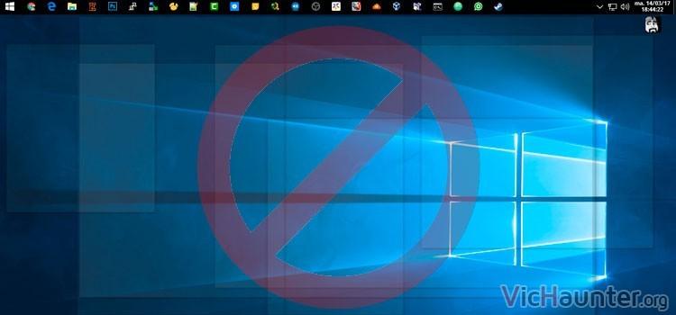 Cómo quitar vistazo al escritorio o aeropeek en windows 10