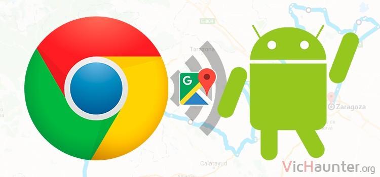 Cómo mandar indicaciones desde google maps a android con chrome