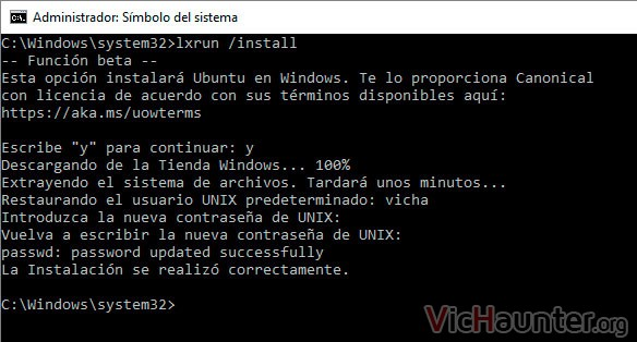 instalar-bash-ubuntu-16-windows-10