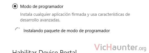 modo-programador-instalando-paquetes-windows-10