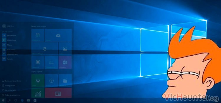Cómo deshabilitar transparencia en Windows 10
