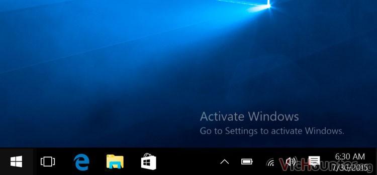Se puede usar windows 10 sin activar