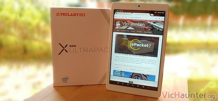 Analisis a fondo tablet teclast ultrapad x80 pro