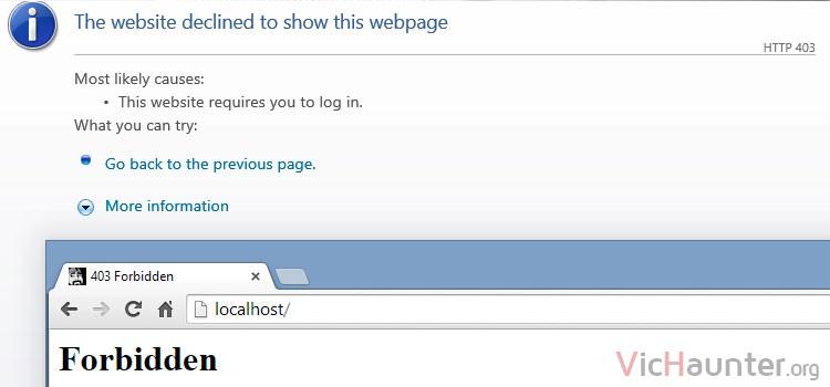 Cómo arreglar error forbidden virtualhost apache ubuntu