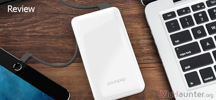 Review completa del power bank dodocool d10
