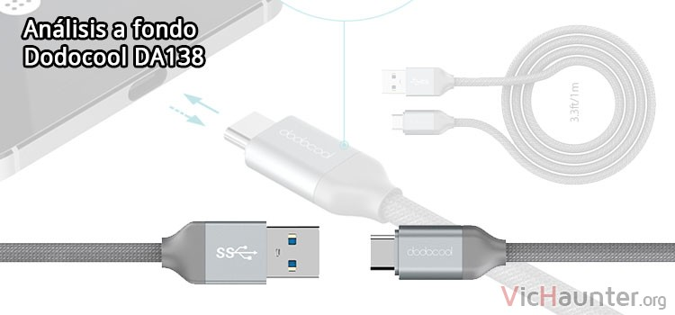 Review a fondo cable dodocool usb3 c