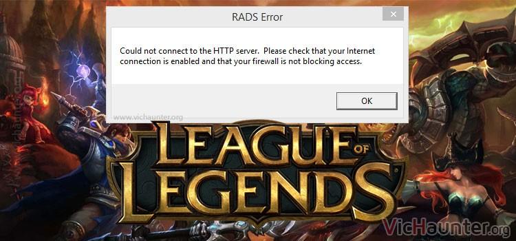 Cómo arreglar rads http cualquier programa lol windows