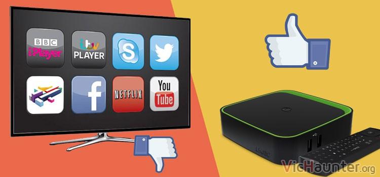 Por qué un TV Box es mejor que una SmartTV