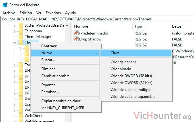 crear-clave-registro-sistema-windows-10