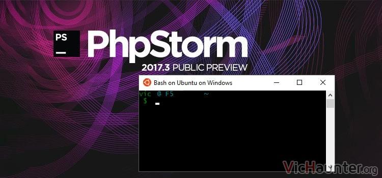 Cómo configurar wsl en phpstorm para windows
