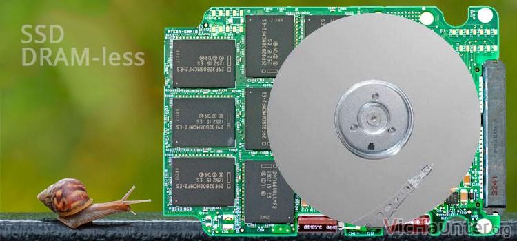 Qué es un disco SSD sin DRAM y ¿merece la pena?