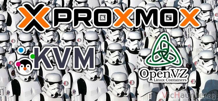 Cómo duplicar contenedores kvm en proxmox con diferente id