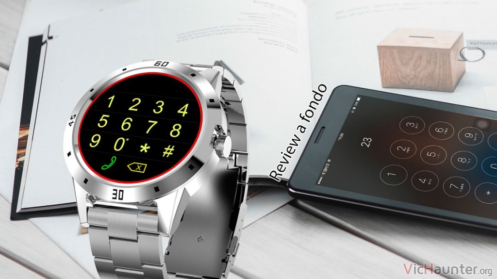 Review completa del smartwatch bankeey n6