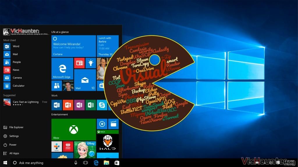 Programas necesarios en cualquier instalación de Windows