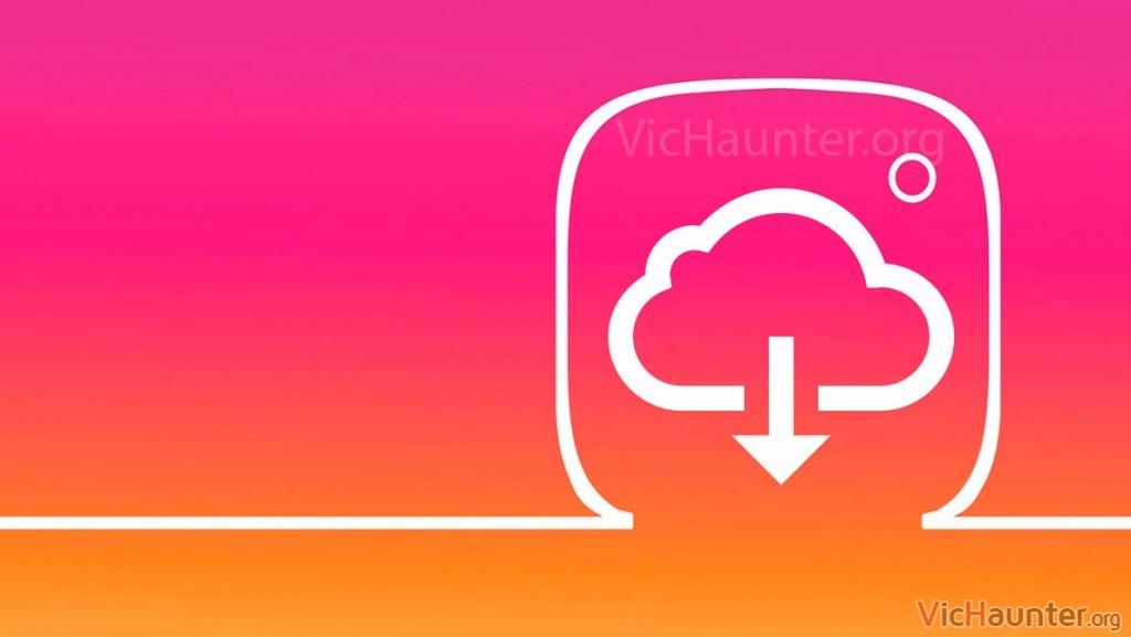 Cómo descargar todos los datos de instagram