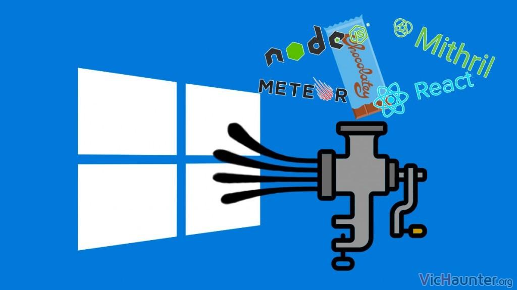 Cómo instalar todo lo necesario para programar javascript cliente/servidor en Windows 10