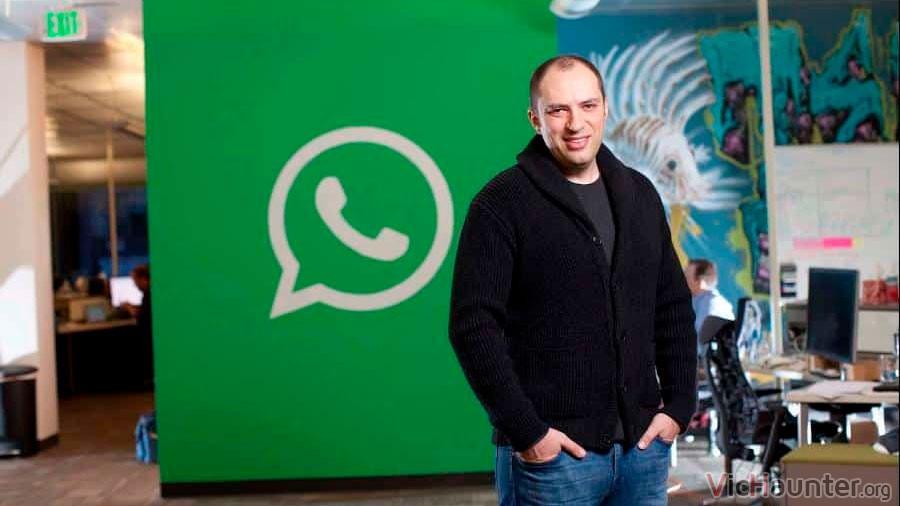 El fundador de Whatsapp renuncia por culpa de Facebook