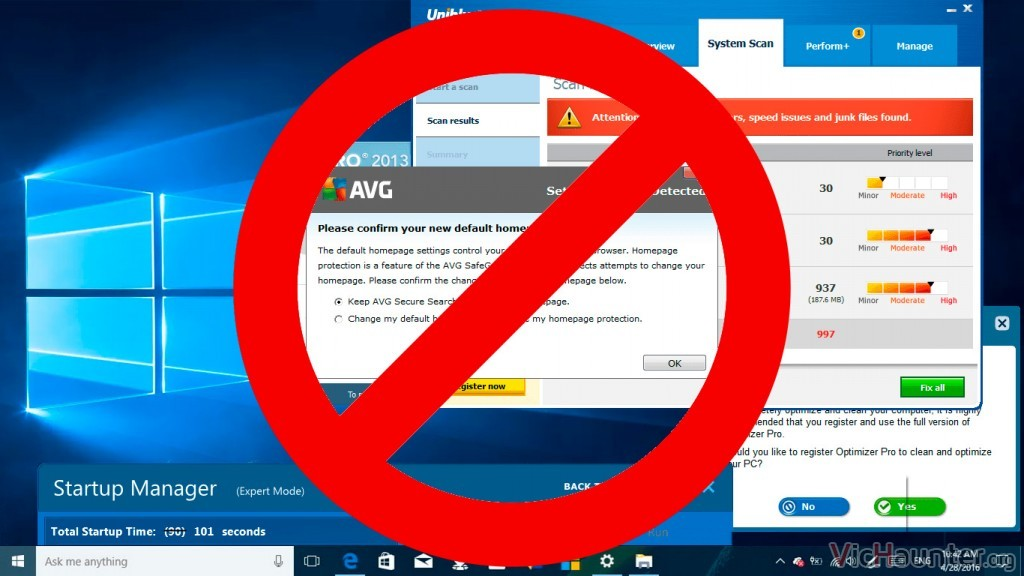 Cómo habilitar bloquear bloatware Windows Defender