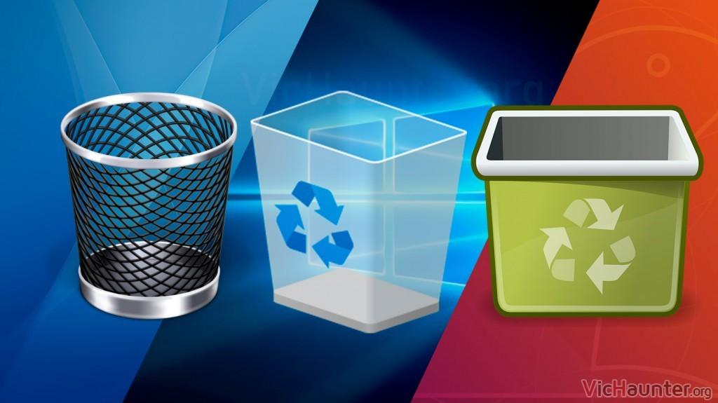 Todo lo que necesitas saber sobre la papelera de reciclaje