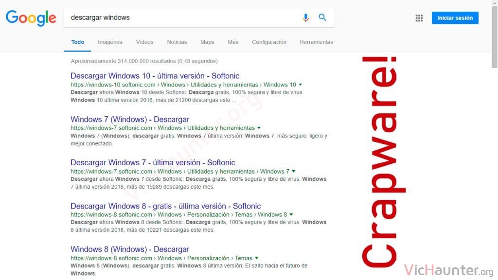Qué es el crapware y cómo ignorarlo en google