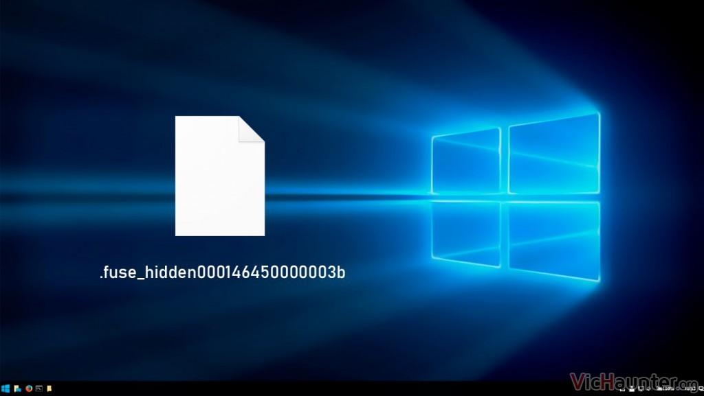 Qué son y como eliminar archivos fuse_hidden