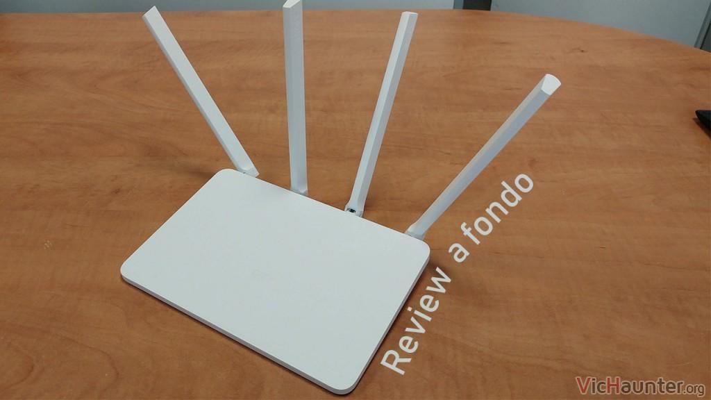 Análisis completo del router Xiaomi Mi 3