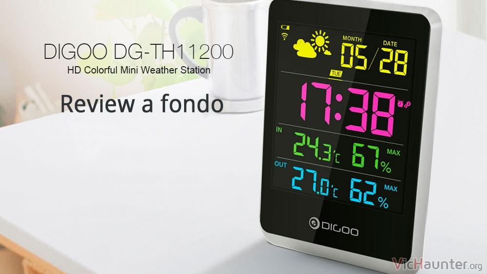 Review a fondo del termómetro meteorologico DIGOO DG TH11200