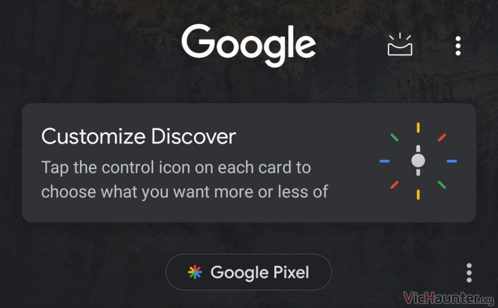 Cómo poner el tema oscuro en el android discovery