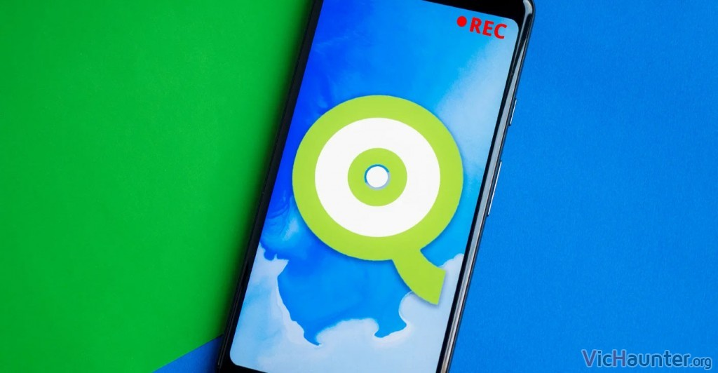 Cómo habilitar la grabación de pantalla sin apps en Android Q