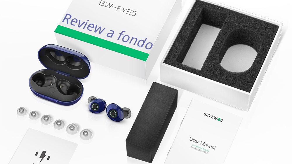 Review completa y análisis de los blitzwolf bw fye5