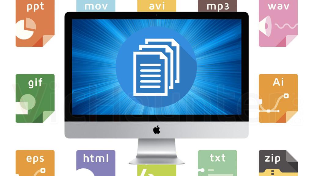 Cómo convertir extension de archivos en macOS