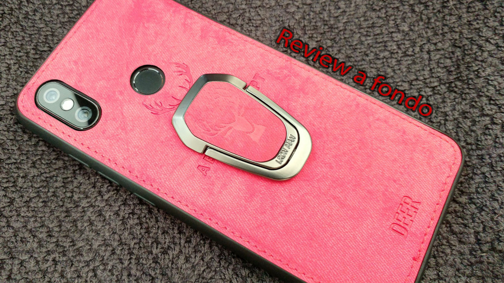Review completa de la funda DEER con anilla comprada en China