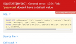 como solucionar general error 1364 field doesnt have default value