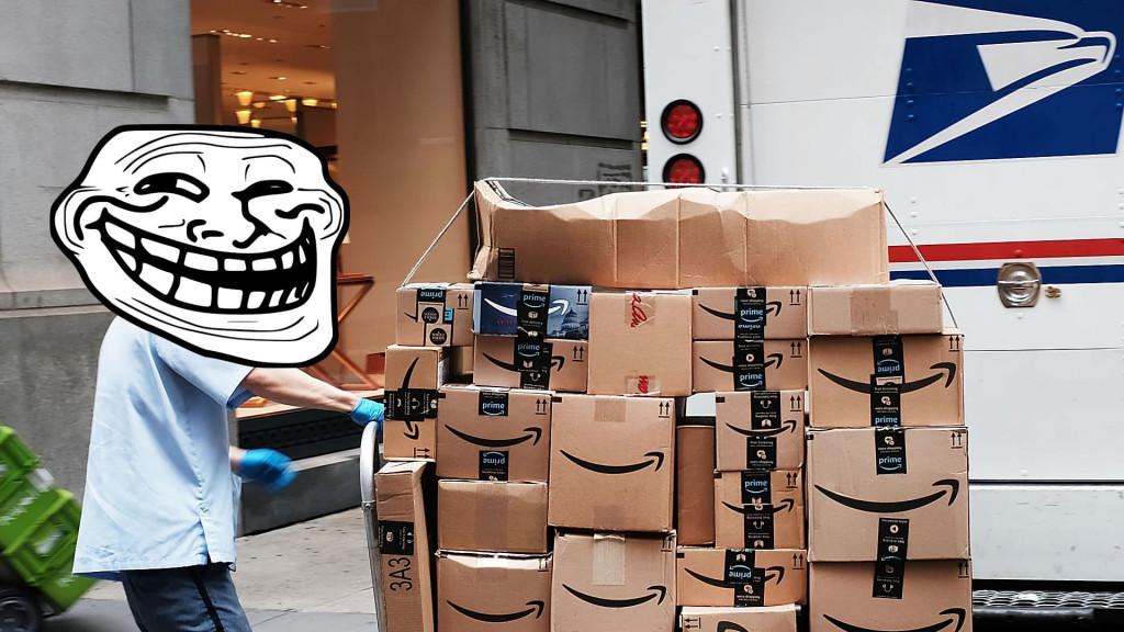 Por qué han entregado mi paquete en otro país