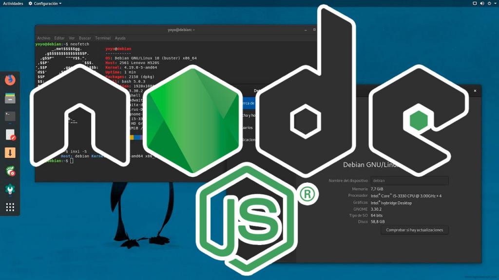 Cómo instalar nodejs en cualquier linus