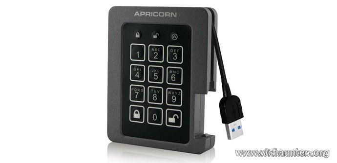 Apricorn-SSD-usb-cifrado