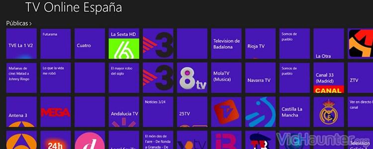 Toda la programación disponible en España al alcance de tu ordenador