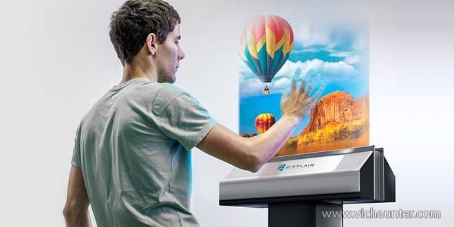 Displair-la-pantalla-proyectada-en-el-aire