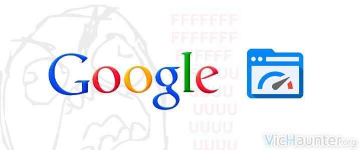 Google pagespeed cierra