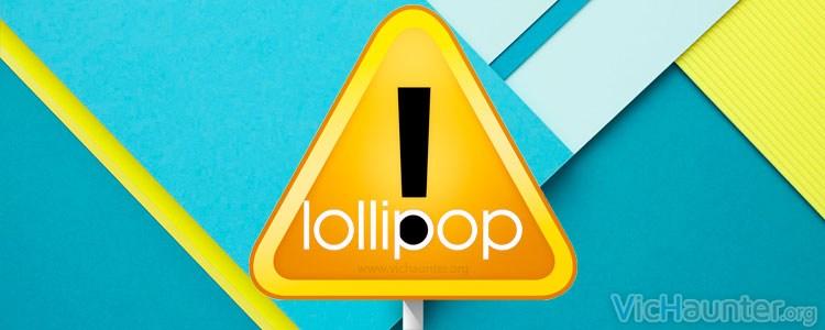 Problema de seguridad en android lollypop