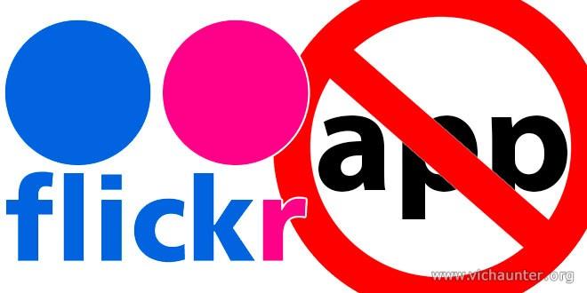 Como bloquear permisos de aplicaciones en flickr