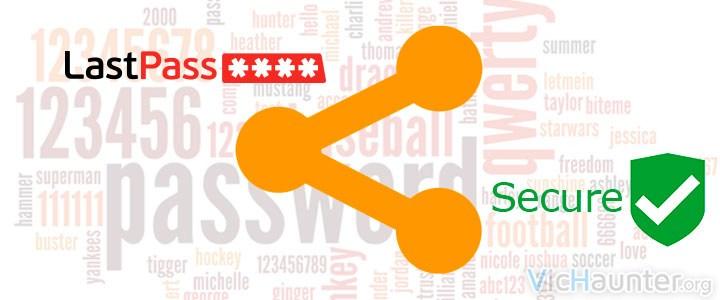 Guardar y compartir contraseñas online