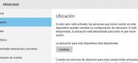 Cómo deshabilitar el seguimiento y localización en Windows 10