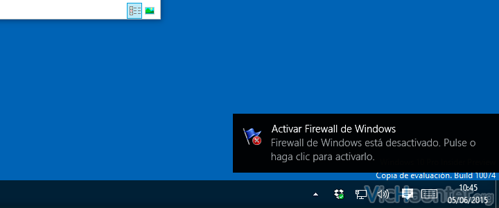 Como deshabilitar notificaciones en windows 8.1 y 10