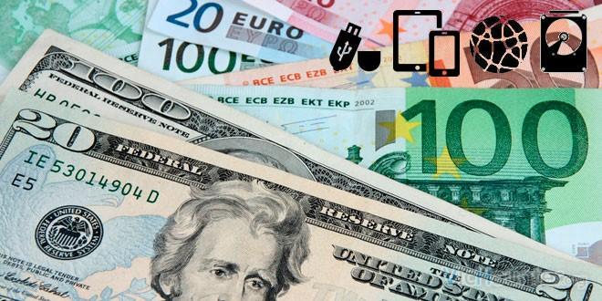 Cambio dolar euro tecnología