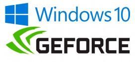 Solucionar el problema del administrador de dispositivos en las Gforce con Windows 10