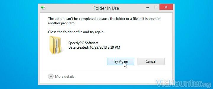 forzar eliminar archivo windows