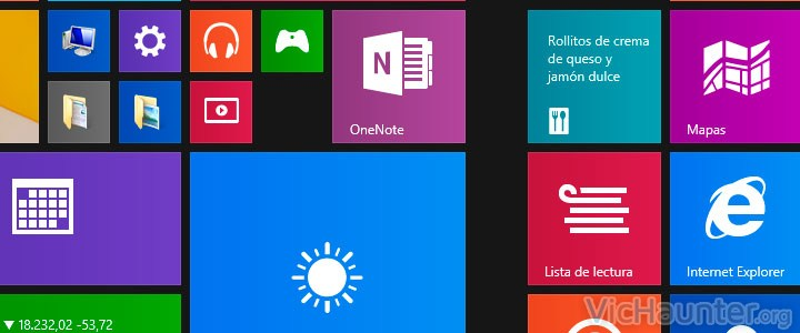 Como editar y gestionar el menú mosaico de windows 8.1
